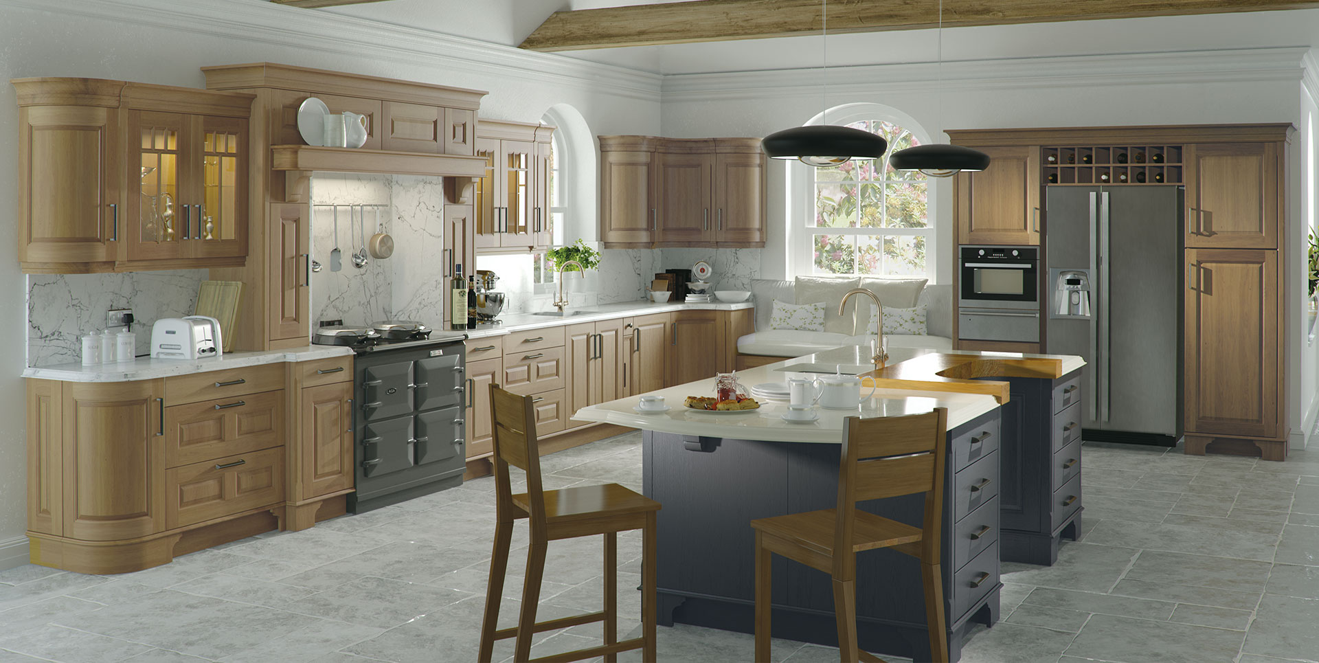 Traditional kitchens karl kavanagh furniture for Kitchen cabinets ireland