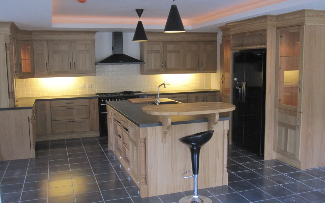 Stylish Traditional Kitchen in Leitrim